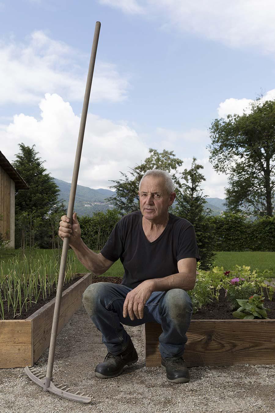 Gartenarbeit —