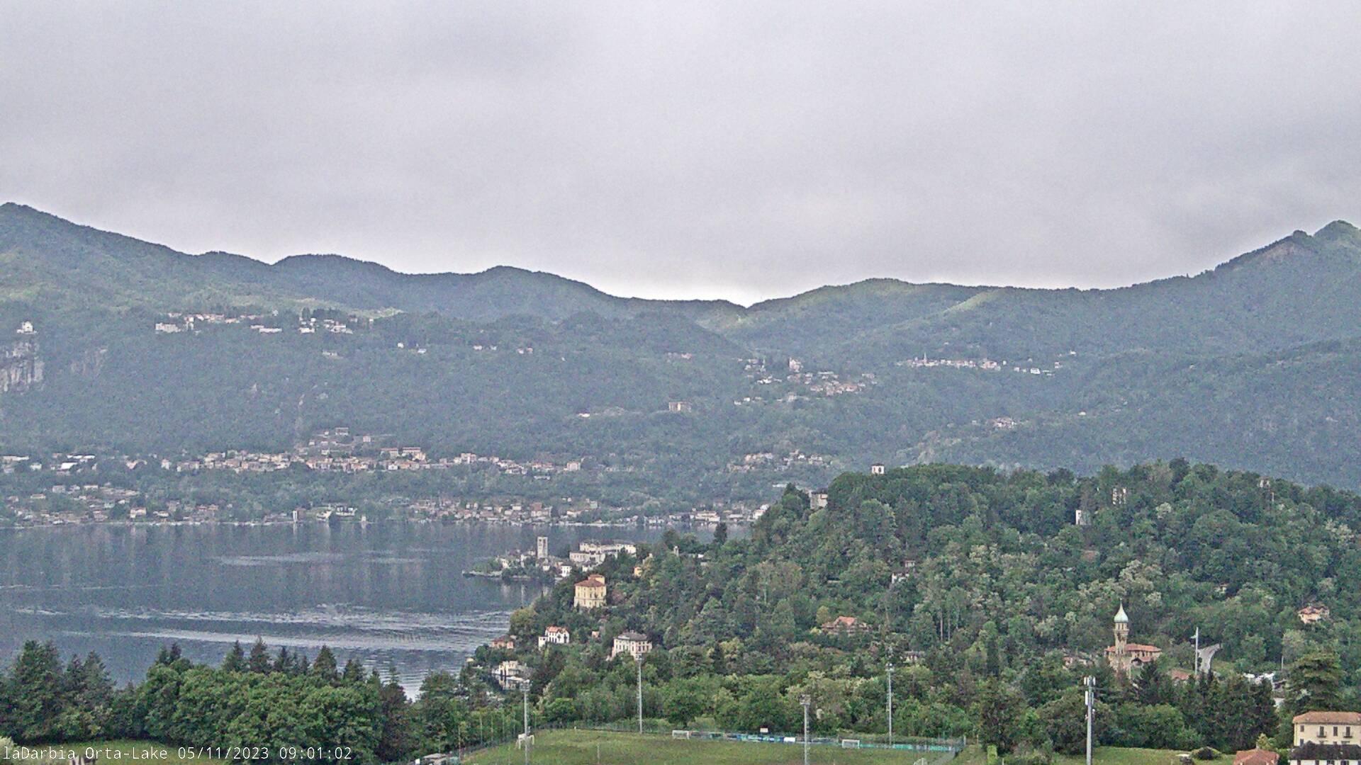Webcam lago d'orta